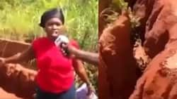 I can't find husband - Young lady reveals in video, links problem to bad roads in her community