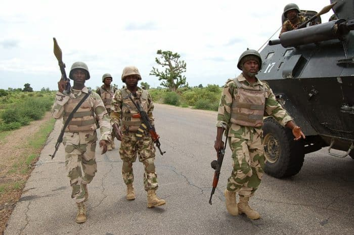 What are the duties of the Nigerian army?