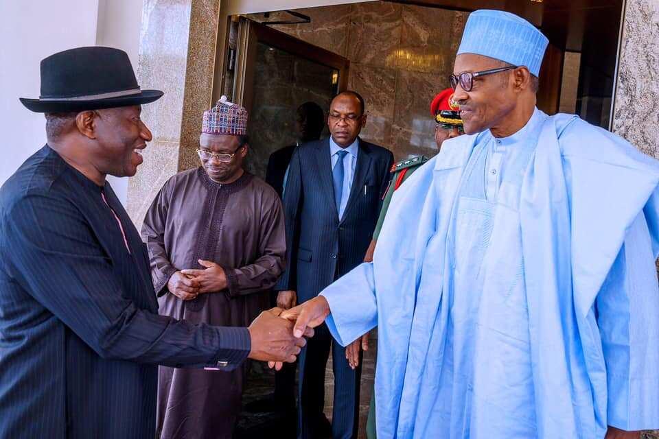 Dangantakata da Buhari lafiya lau ta ke tafiya – Goodluck Jonathan ya yabi Shugaban kasa