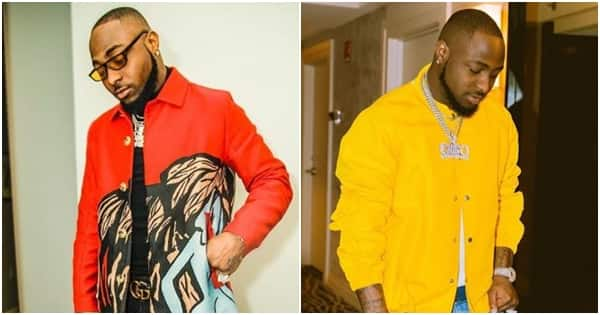 Davido showers friends with prayers after he reported got him a Lexus ride