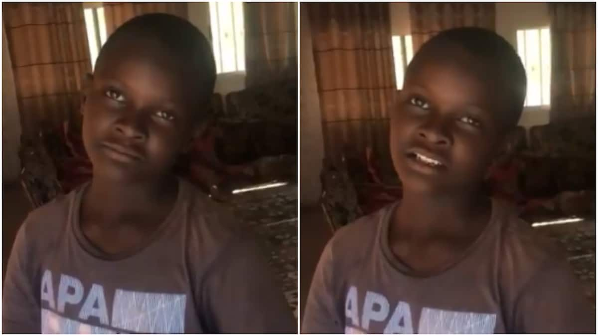 Meet young boy to lost father to Boko Haram attack and mom in Cameroon (video)