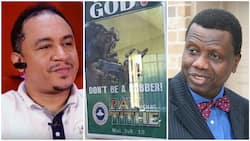 Daddy Freeze reveals plan to discuss about Christ with Pastor Adeboye, says they should sit over a bottle of beer