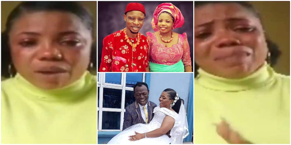 He never gave me upkeep money for 11 years; Lady accused of marrying her pastor makes startling revelations in new video