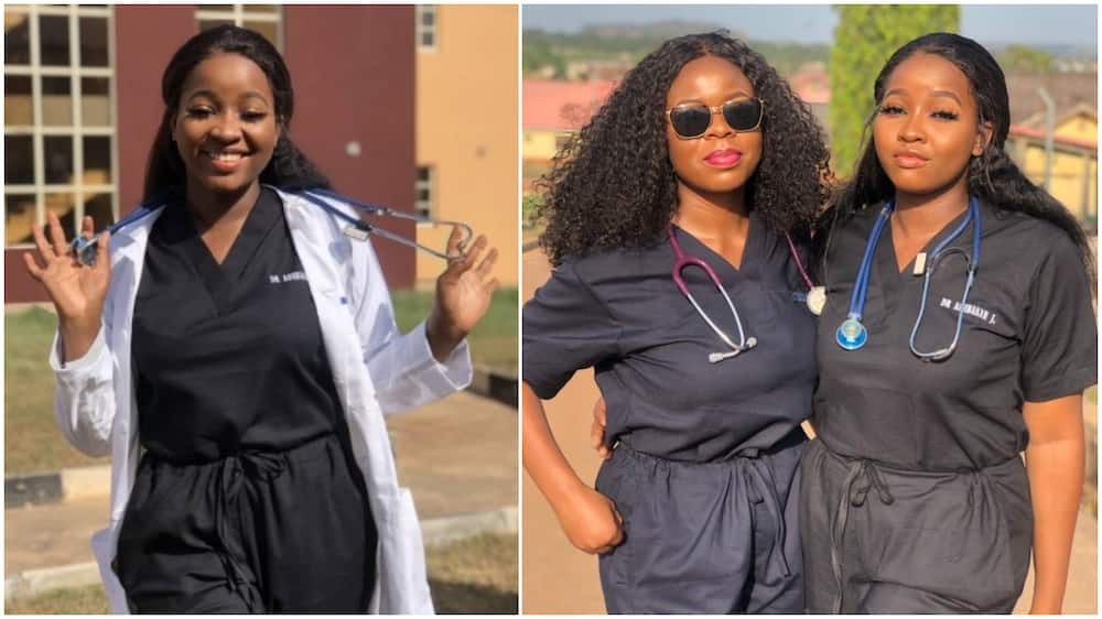 Nigerian lady and her roomie become doctors same, says they both slept peacefully