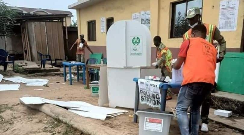 Aba North/South bye-election: Explosion Rocks Polling Centre During Voting