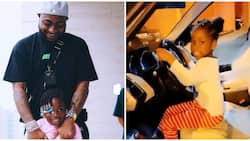 The OBO way: Davido gets Range Rover for his first child Imade as early birthday present
