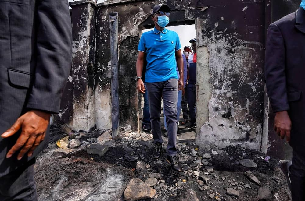 Governor Sanwo-Olu lifts curfew imposed on Lagos over violence