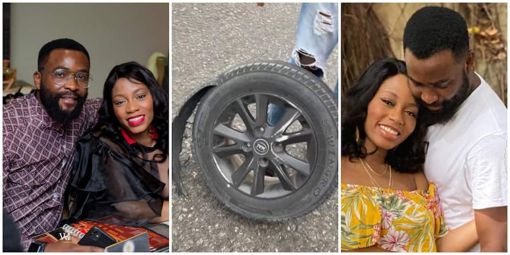 BBNaija's Gedoni thankful as he survives car accident.