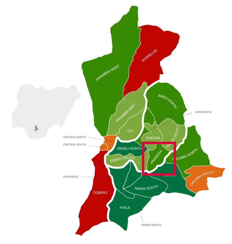 Anaocha location
