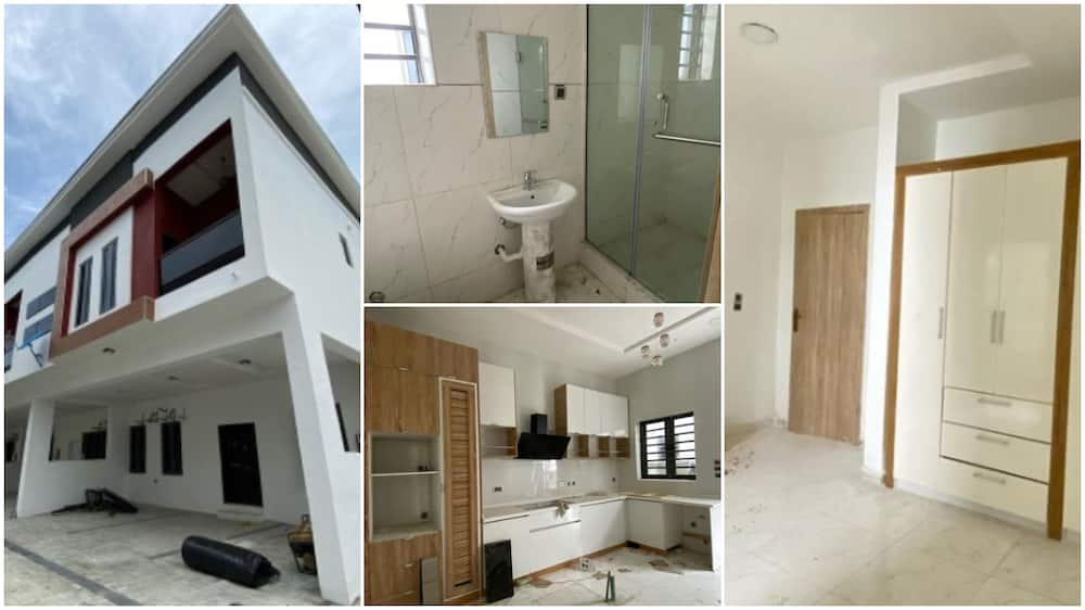 4 bedroom house with 24 hours light sells for N54m in Lagos, photos show its interior