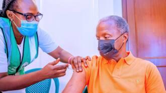 Osinbajo receives second dose of COVID-19 vaccine in Aso Rock