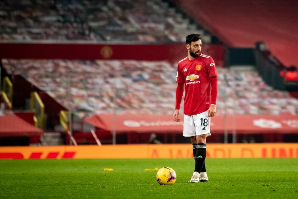 Bruno Fernandes, Man United star, makes Premier League team for year 2020