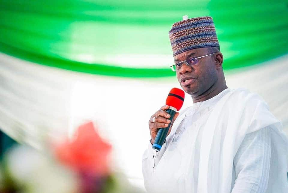 Governor Yahaya Bello tipped as Buhari's successor