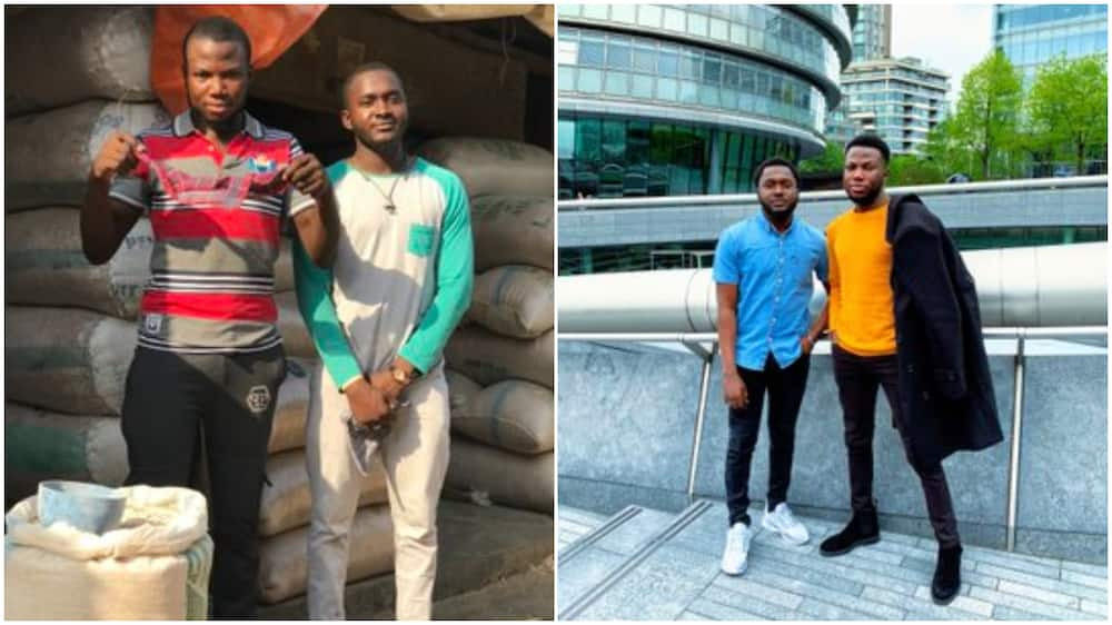Great transformation of two friends wows people on social media