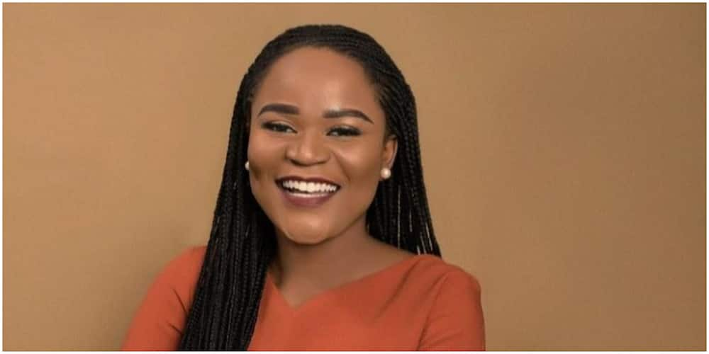 Massive celebration as young lady bags big job in UK firm