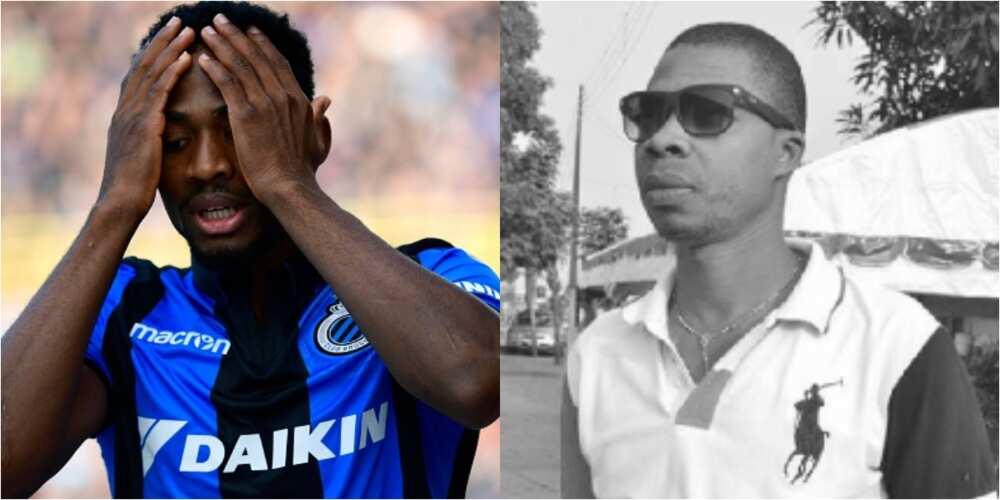Emmanuel Dennis loses brother, Popti in boat mishap in Lagos