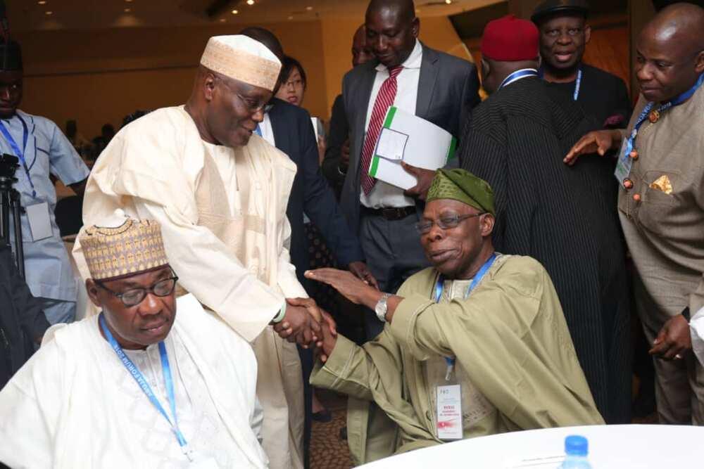 Obasanjo makes stunning revelation, explains how Atiku's alliance with Ekwueme collapsed in 2003