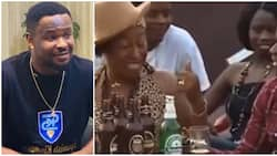 Zubby Michael shares 14-year-old video with Patience Ozokwo, says it was 1st time he appeared in Nollywood movie