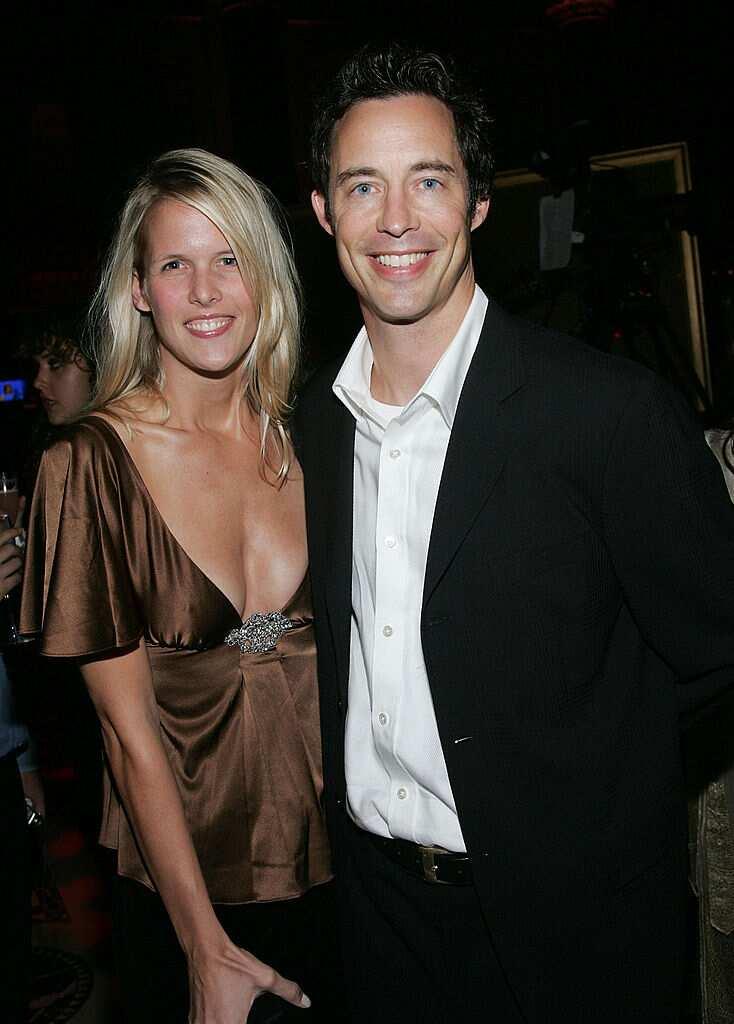 Tom Cavanagh wife