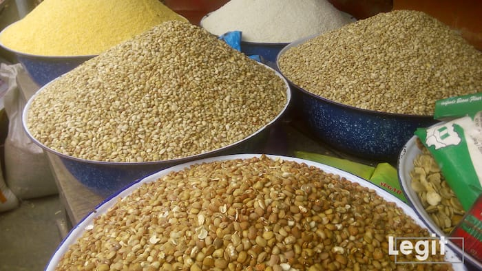 Updated: Legit.ng weekly price check: Beans now sells for N100,000 per bag in Lagos market, others fluctuate