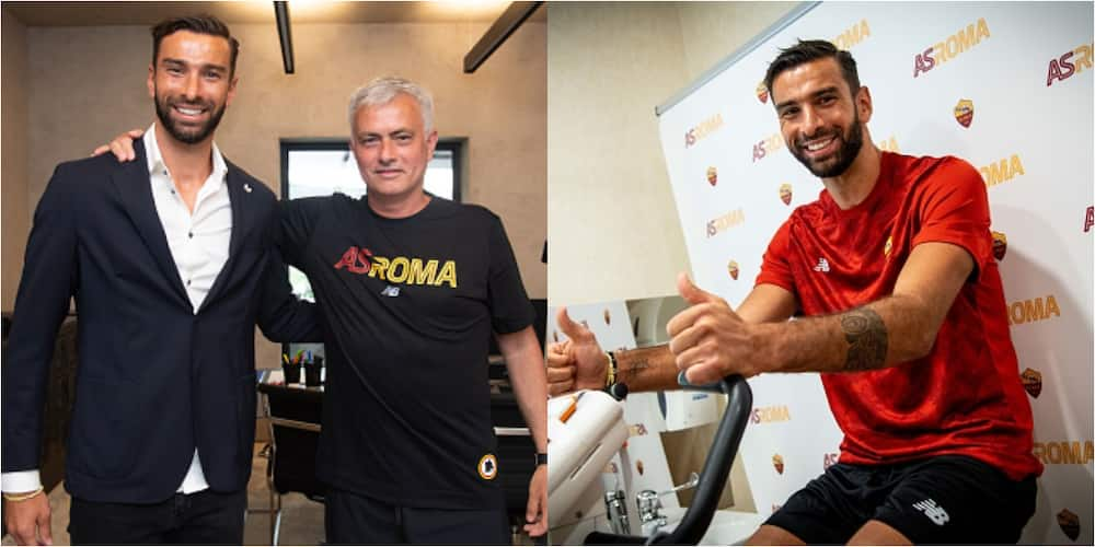 New Roma boss Mourinho makes his first summer signing of outstanding Euro 2020 Portuguese