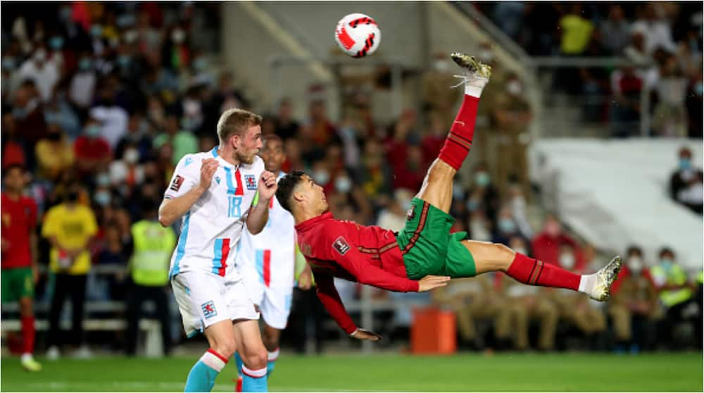 Despite Scoring Hat-Trick Against Luxembourg, Cristiano Ronaldo Was Denied 'Best Ever Goal' by Super Save