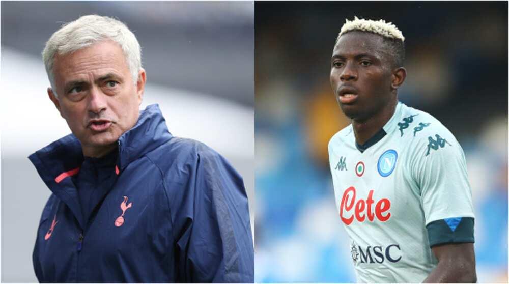 Jose Mourinho slams Osimhen for not joining Tottenham because of Kane