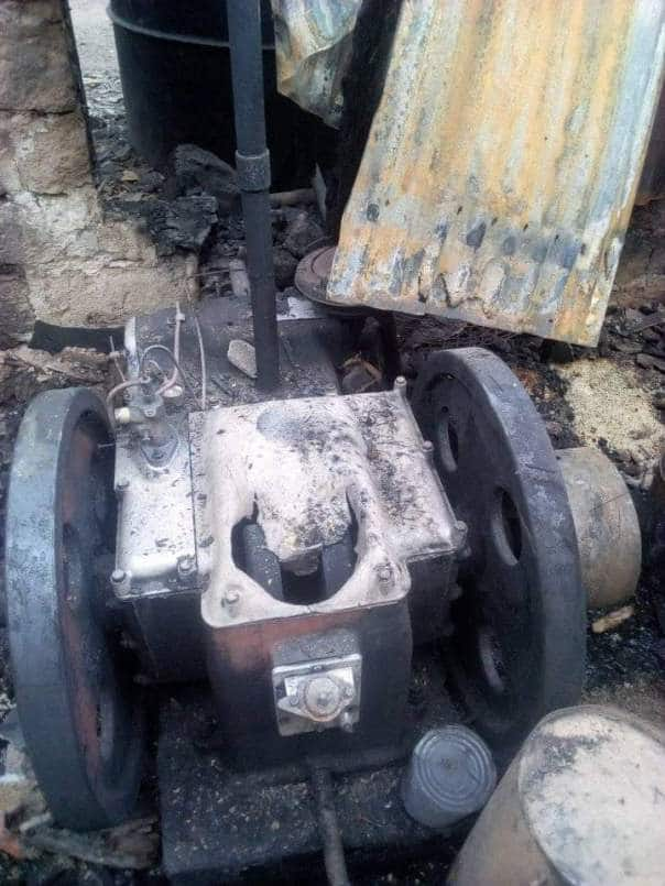 Just in: Abakaliki rice mill gutted by fire, company's boss gives details