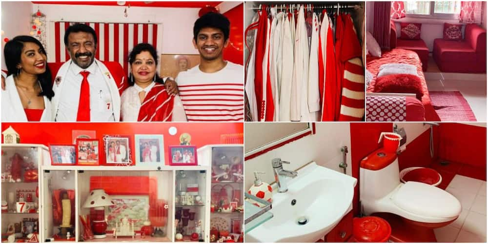Sevenraj: Meet family who only wears red and white clothes