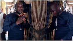 See photos of man who was arrested for buying goods worth over 70,000 with fake alert in Lagos