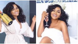 Popular Nollywood actress releases stunning bathroom inspired photos ahead of her 41st birthday