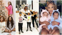 Double blessings: 8 Nigerian celebrities who are proud parents of twin children
