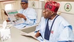 Buhari, Tinubu, Fayemi sun yabawa Shugaban APC na farko a tarihi
