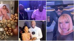 Mercy Eke at 28: Videos capture star-studded occasion as Don Jazzy, Bobrisky, Charly Boy, others storm event