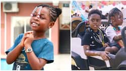 Celebrity besties: Davido's daughter Imade celebrates Tiwa Savage's son Jamil on his 6th birthday