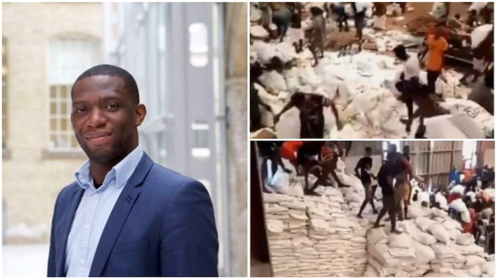 Mixed reactions trailed his tweet condemning looting. Photos sources: Twitter/Dipo Awojide/ThisDay