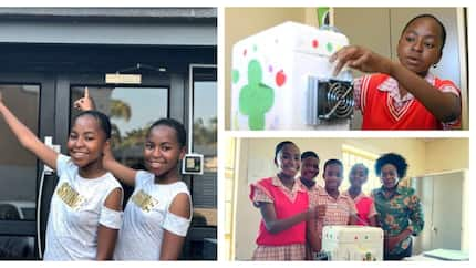 13-year-old girl creates a solar-powered cooler box that charges mobile phones (photos)
