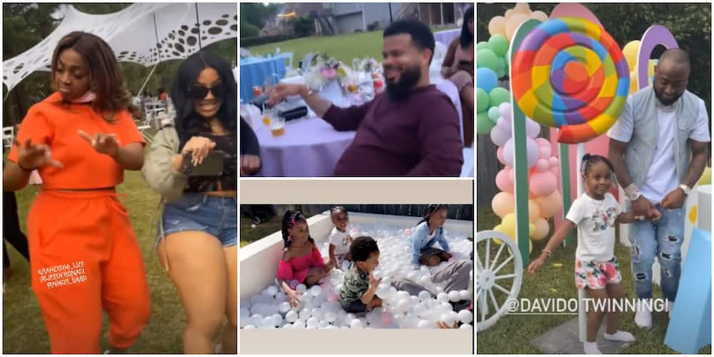 Hailey Adeleke at 4: Photos, Videos From Birthday Party in Atlanta, Davido, Other Family Members Attend