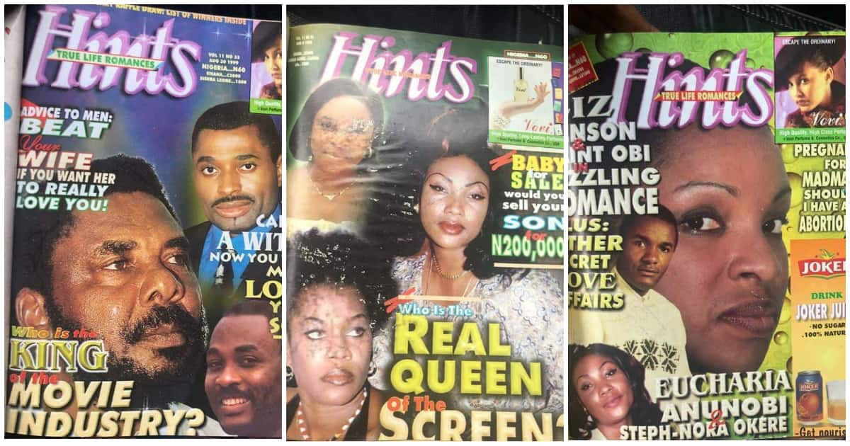 Nigerians reacts as epic throwback photos of Hint Magazine surface nigerian magazine covers