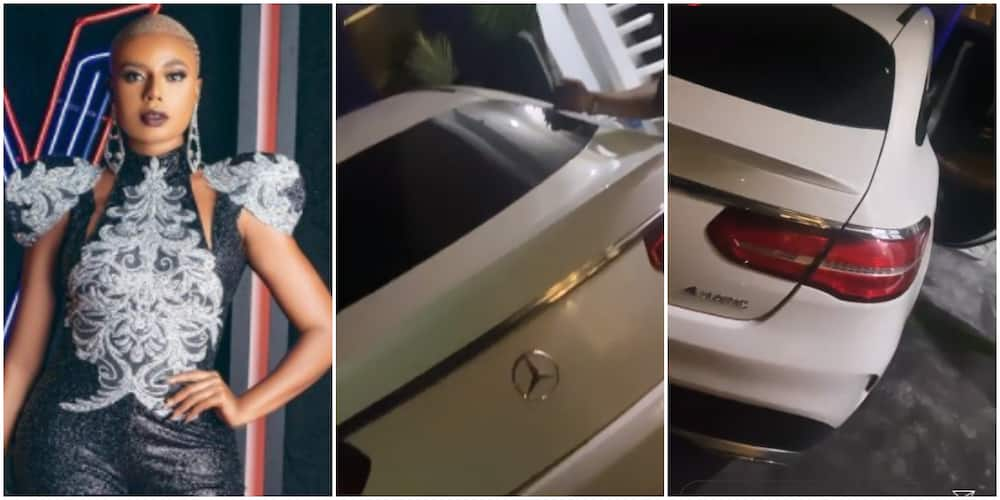 Nancy Isime buys a Benz