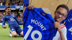 Shina Peller's son storms Stamford Bridge after Chelsea 7-0 win against Norwich, gets stunning gift from hat-trick hero Mount
