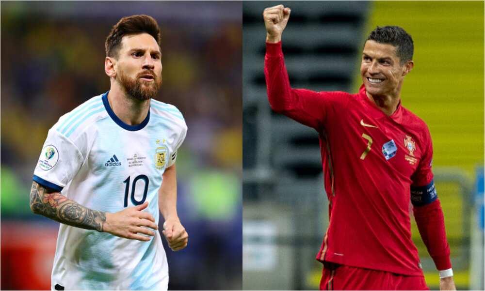 Cristiano Ronaldo: CR7 has now scored 31 more international goals than Messi