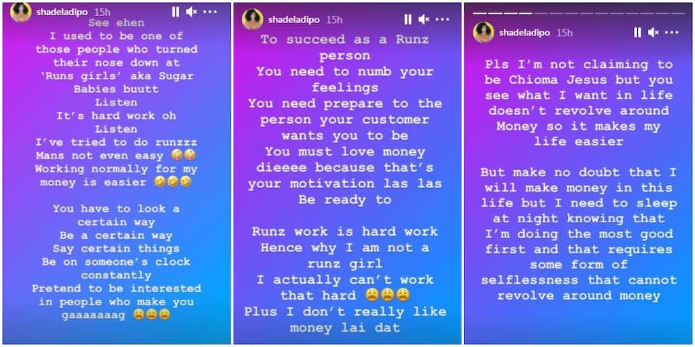 Doing Runs Is Hard Work, I've Tried It: Media Personality Shade Ladipo Discloses, Says Normal Work Is Easier