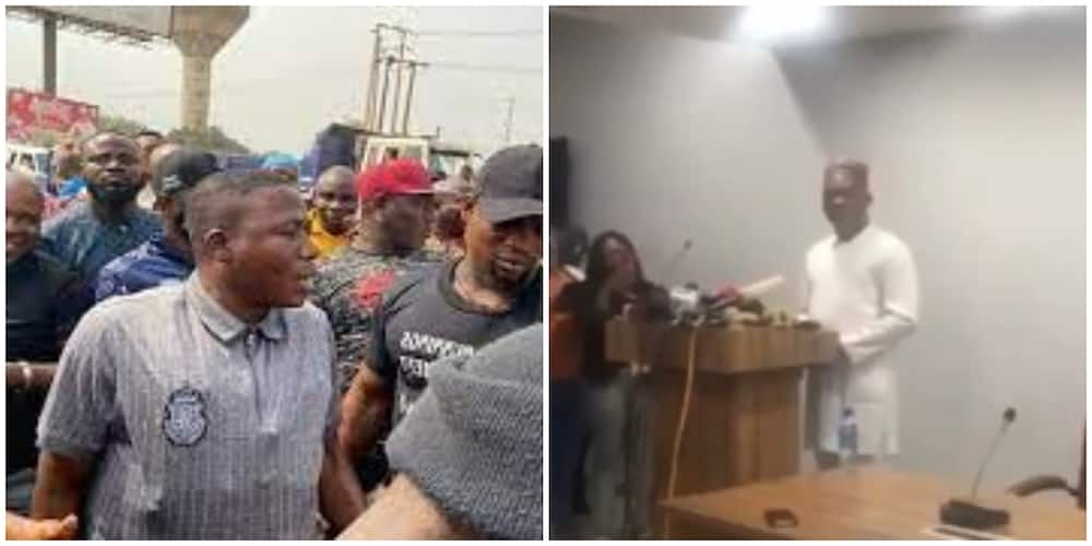 Video emerges as DSS finally clears the air on the reason for the raid on Sunday Igboho's place