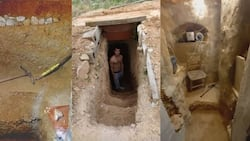 Teen spends 6 years digging underground cave after arguing with parents