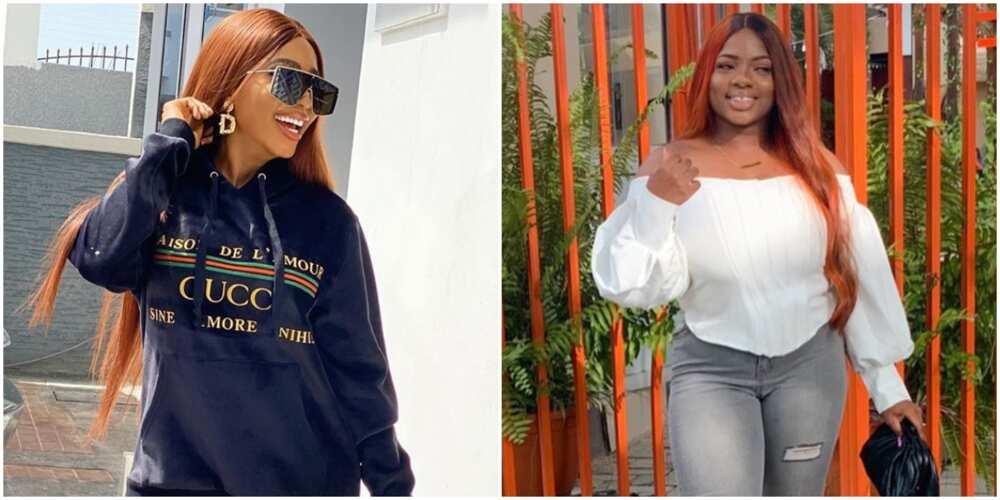BBNaija's Dorathy pays a visit to fellow reality star Mercy Eke