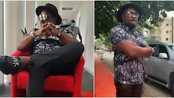 How dare you come for Jim Iyke: Hilarious reactions as actor slams troll who said he's short