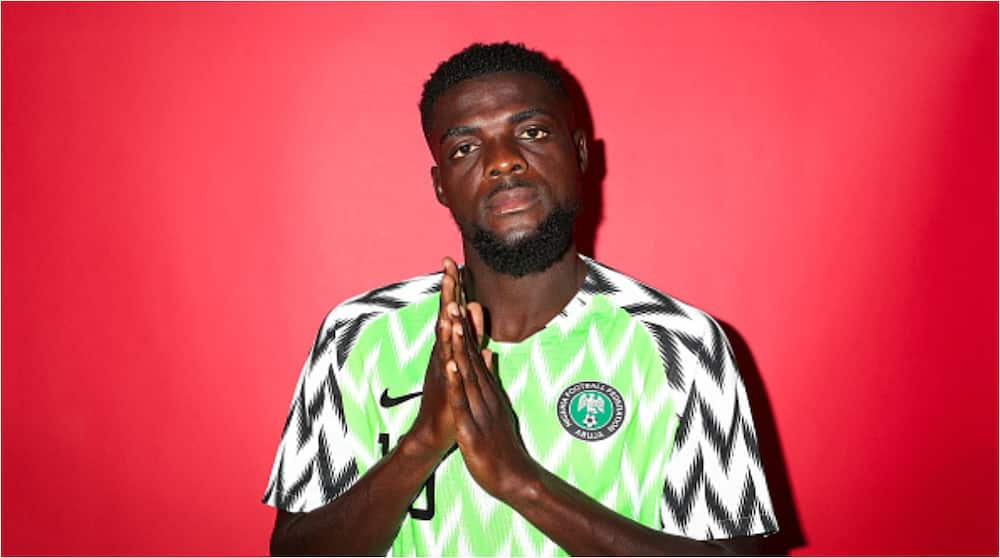 Super Eagles star who recently lost his mum to cancer thanks friends and family for support