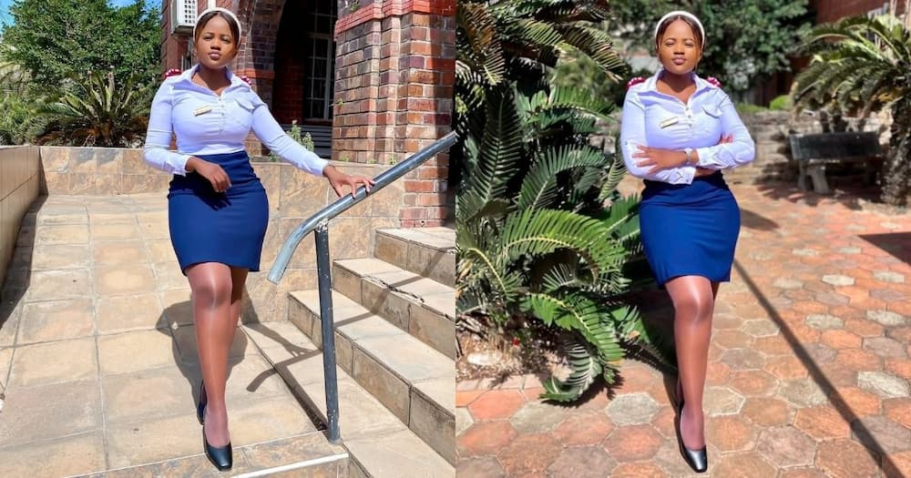 Stunning nurse, wows Mzansi, can add quote, Pls export