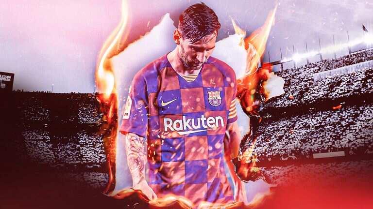 Dalilai 4 da suka sa Lionel Messi zai bar Barcelona